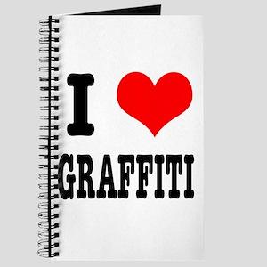 I Heart (Love) Graffiti Journal