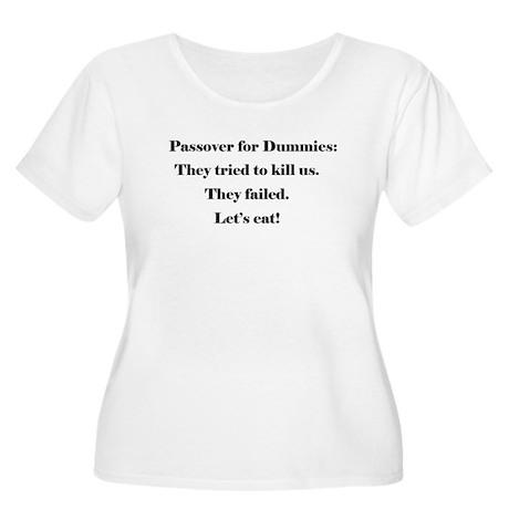 Passover for Dummies Women's Plus Size Scoop Neck