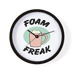 Foam Freak Wall Clock