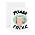Foam Freak Greeting Cards (Pk of 10)