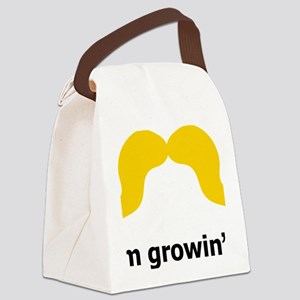 Mustache-004-A Canvas Lunch Bag