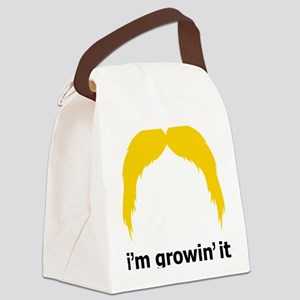 Mustache-042-A Canvas Lunch Bag