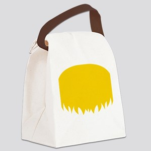 Mustache-044-B Canvas Lunch Bag