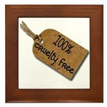 1oo% Cruelty Free 2 Framed Tile