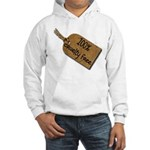 1oo% Cruelty Free 2 Hooded Sweatshirt