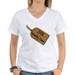 1oo% Cruelty Free 2 Women's V-Neck T-Shirt