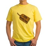 1oo% Cruelty Free 2 Yellow T-Shirt