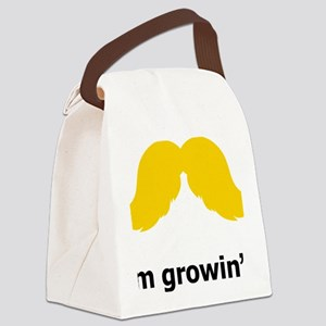Mustache-051-A Canvas Lunch Bag