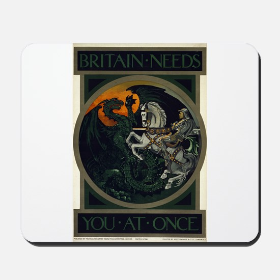Britain Needs You At Once - anonymous - 1915 - Pos