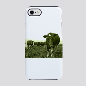 Annoyed cow iPhone 7 Tough Case