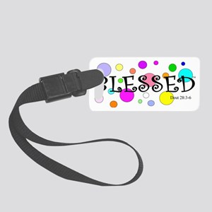 Blessed Small Luggage Tag
