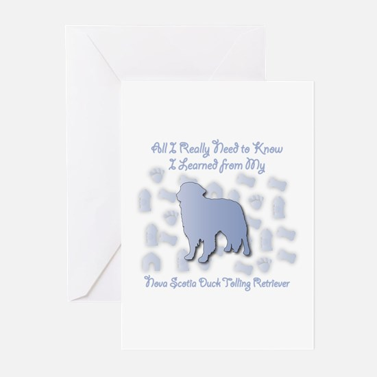 Learned Toller Greeting Cards (Pk of 10)