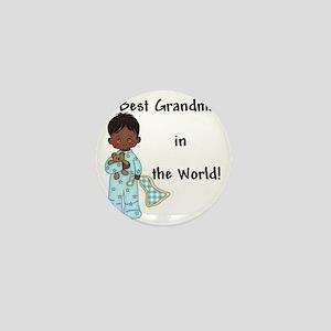 Best Grandma in the World....African A Mini Button