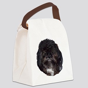 prissy shih tzu Canvas Lunch Bag