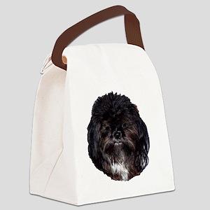 prissy shih tzu Canvas Lunch Bag