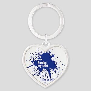 Im a Histologist Heart Keychain