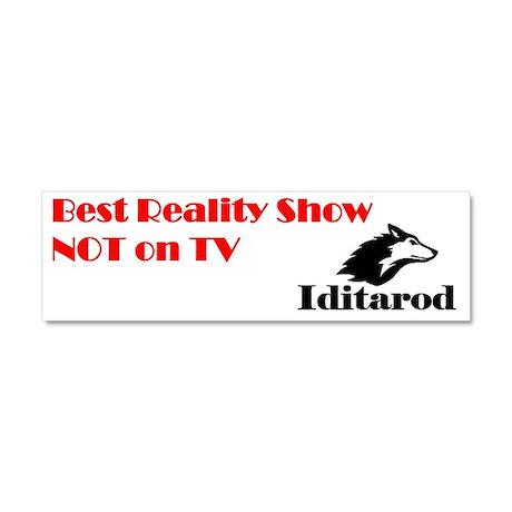 Iditarod: Best Reality Show Not Car Magnet 10 x 3