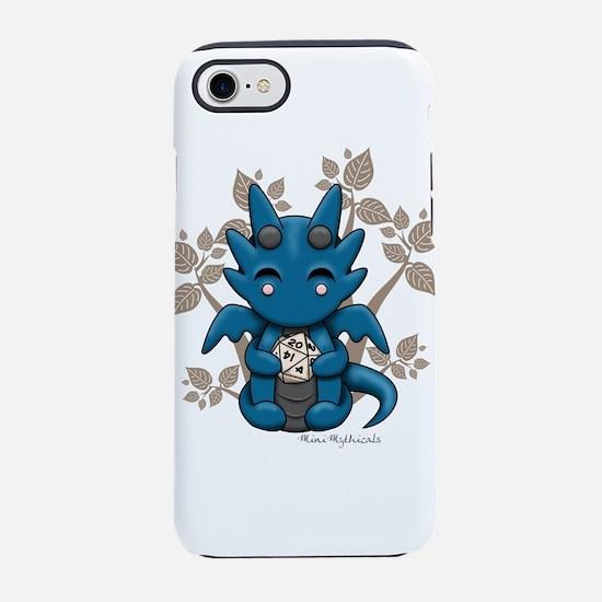 Kawaii Dice Dragon iPhone 7 Tough Case