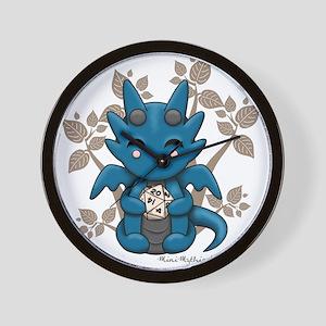 Kawaii Dice Dragon Wall Clock