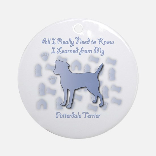 Learned Patterdale Ornament (Round)