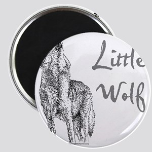 Little Wolf Magnet