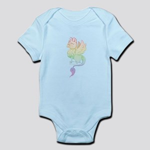 Pastel Rainbow Griffin Body Suit