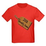 1oo% Cruelty Free 2 Kids Dark T-Shirt