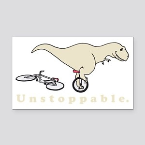 Unstoppable Rectangle Car Magnet