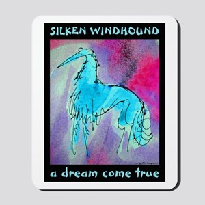 Silken Dream Blues Mousepad