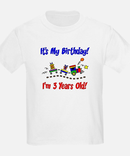 Train 3rd Birthday T-Shirt