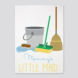 Mommy's Little Maid 5'x7'Area Rug