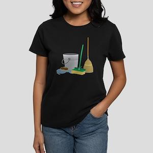 Cleaning Supplies Women's Dark T-Shirt