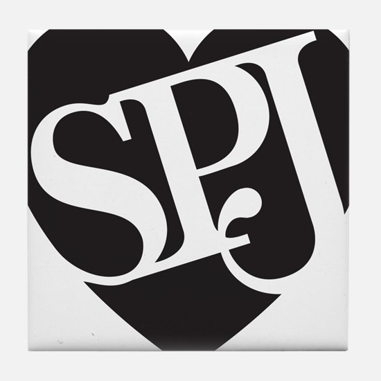 SPJ Love Tile Coaster