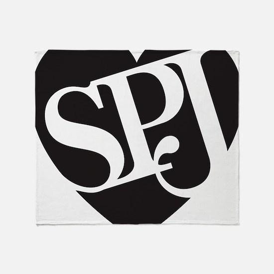 SPJ Love Throw Blanket