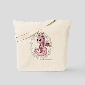Love Dragon Tote Bag