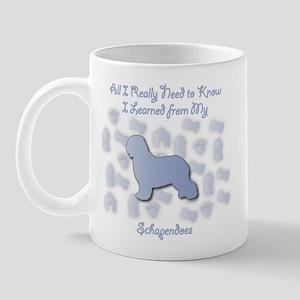 Learned Schapendoes Mug