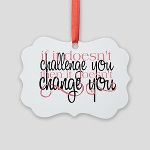 Challenge Picture Ornament