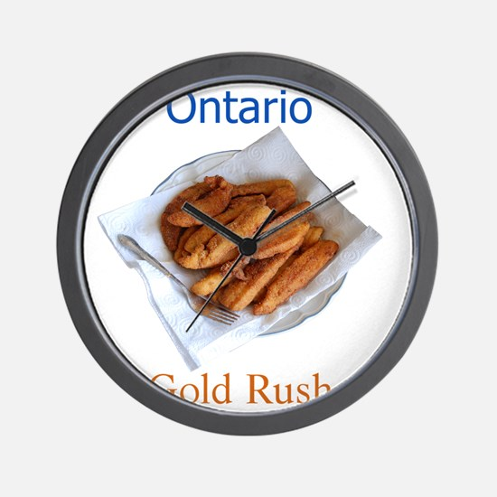 Ontario Gold Rush Wall Clock