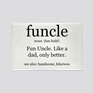 Fun Uncle definition Magnets