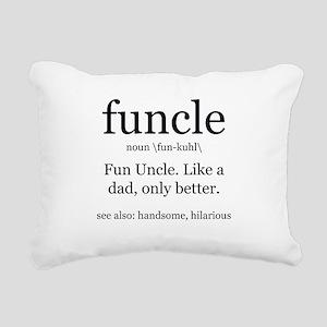 Fun Uncle definition Rectangular Canvas Pillow
