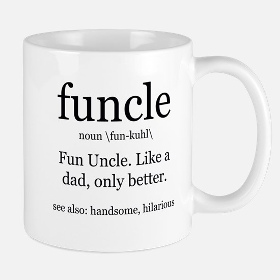 Fun Uncle definition Mugs