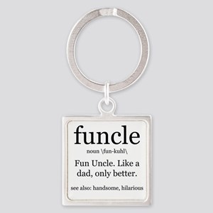 Fun Uncle definition Keychains