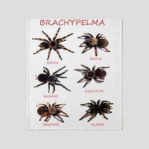 Brachypelma Throw Blanket