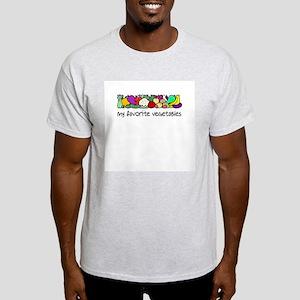 My Favorite Vegetables Light T-Shirt