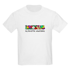 My Favorite Vegetables T-Shirt