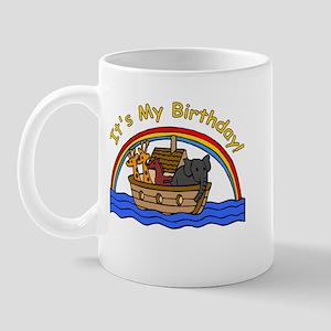 Noah's Ark Birthday Mug