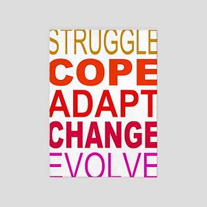 Struggle Cope Adapt 5'x7'Area Rug