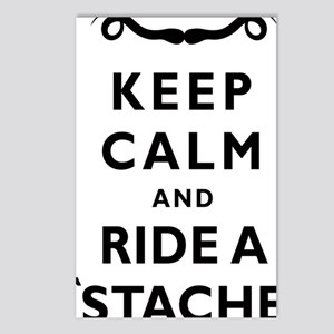 Mustache-073-A Postcards (Package of 8)