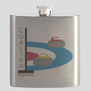 Curling Field Flask