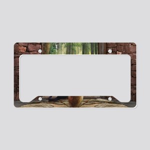 Doorway into Forever C License Plate Holder